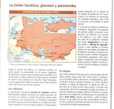 Desintegración de la URSS y el Nuevo Orden Mundial